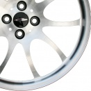 MINI Bright Turned alloy wheel finish type