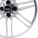 MINI Polished Silver alloy wheel finish type