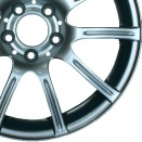 Mercedes Chrome Shadow alloy wheel finish type