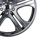 Brabus Titanium | Full Face Polished alloy wheel finish type
