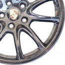 Porsche Black alloy wheel finish type
