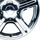 Mercedes Chromed alloy wheel finish type