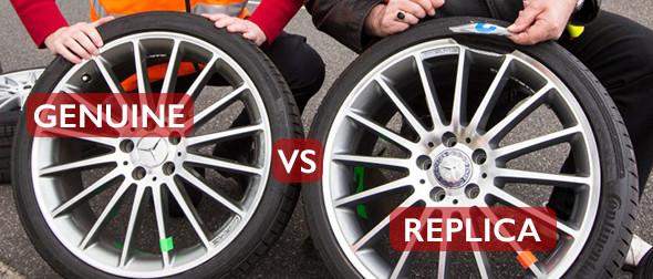 genuine vs replica wheels