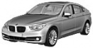 BMW 5 Series F07 Gran Turismo with original BMW Wheels