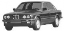 BMW 3 Series E30/4 Saloon with original BMW Wheels