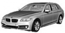 BMW 5 Series F11 Touring/Estate with original BMW Wheels