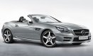 Mercedes SLK Class R172 Roadster with original Mercedes Wheels