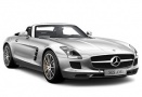 Mercedes SLS AMG R197 Roadster with original Mercedes Wheels