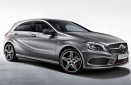 Mercedes A Class W176 Hatchback with original Mercedes Wheels