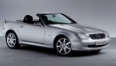Mercedes SLK Class R170 Roadster with original Mercedes Wheels