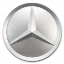 Genuine Mercedes Silver Star Centre Caps