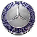 Genuine Mercedes Blue Roadster Raised Star Caps