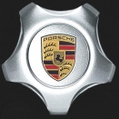 Porsche Centre Caps 955 Star Coloured Crest