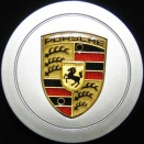 Porsche Centre Caps 993 Flat Coloured Crest