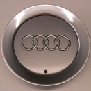 Genuine Audi Large Avus Silver Centre Caps