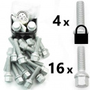 Bolt Pack 1L: Rust Resistant Bolts and High Security Locking Wheelbolts
