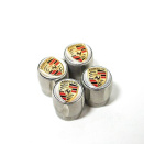 Genuine Porsche Valve Dust Cap Set