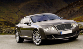 Bentley Continental Alloy Wheels