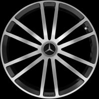 "20"" AMG 6 Double Spoke wheels A2304015802 A2304015902"