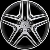 "20"" AMG 5 Double Spoke wheels B66031528"