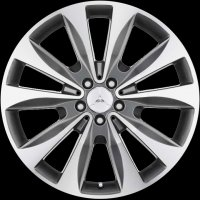 "20"" Mercedes 10 Spoke wheels A1664012802647X21"