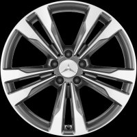 "19"" Mercedes 5 Twin Spoke wheels A21840125027X21 A21840126027X21"