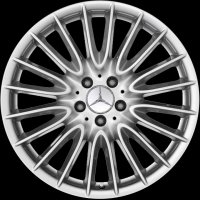 "19"" Mercedes Multi Spoke wheels B66474536 B66474537"