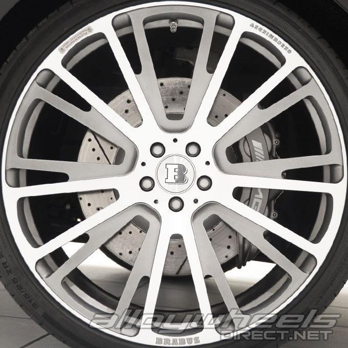 """E320 Mercedes Platinum: 20"""" Brabus Monoblock R Platinum Wheels In Forged"""