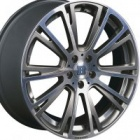 "new 21"" Brabus Monoblock R Platinum alloy wheels"