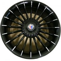 "21"" Alpina Classic C09 Black wheels 3611790SW 3611791SW"
