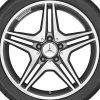"18"" AMG 5 Twin Spoke wheels A17640101007X21"