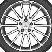 "18"" AMG Multi Spoke wheels A17640102007X21"