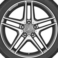 "18"" AMG 5 Twin Spoke wheels A17640100007X21"
