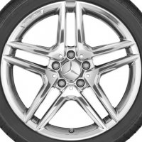 "18"" AMG 5 Twin Spoke wheels A17640100007X15"