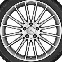 "19"" AMG 16 Spoke wheels A17640105027X21"
