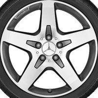 "18"" AMG 5 Spoke wheels A15640105007X21"