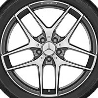 "19"" AMG 5 Twin Spoke wheels A15640107007X21"