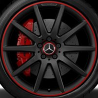 "20"" AMG 10 Spoke wheels A15640104023594"