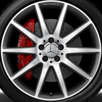 "20"" AMG 10 Spoke wheels A15640104027X21"