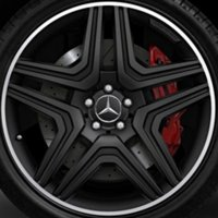 "21"" AMG 5 Twin Spoke wheels A16640123027X71"