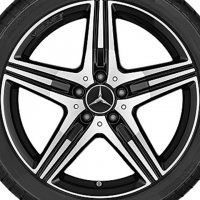 "18"" AMG 5 Spoke wheels B66031523 B66031524"