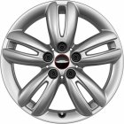 "new 17"" JCW 501 Track Spoke alloy wheels"