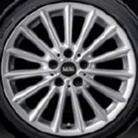 "17"" MINI 505 Multi Spoke wheels 36116855114"