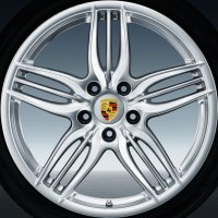 "20"" Porsche Sport Design II wheels 9913621613288Z 9913621663288Z"
