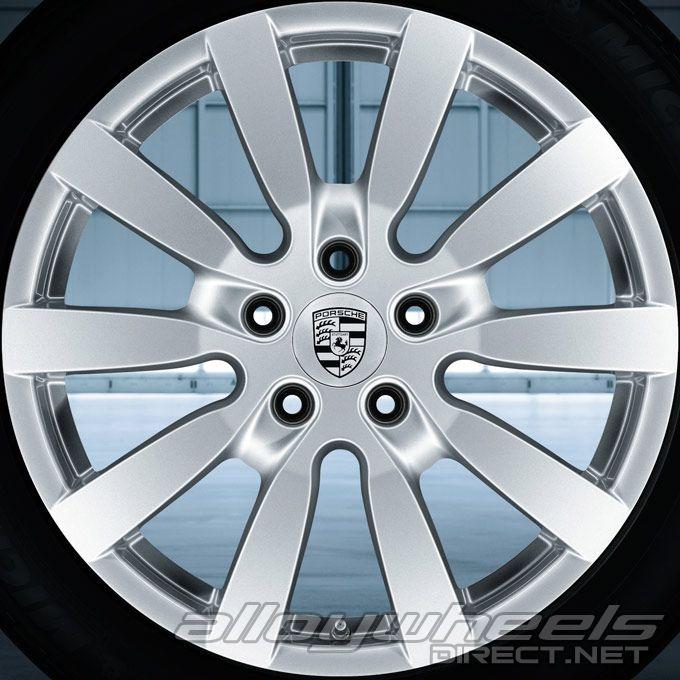 20 Quot Porsche Cayenne Sport Design Ii Wheels In Silver