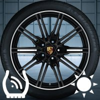 "21"" Porsche Cayenne SportEdition wheels 95836215200041"