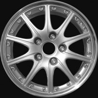 "18"" Porsche Sport Design wheels 99636213455 99636214050"