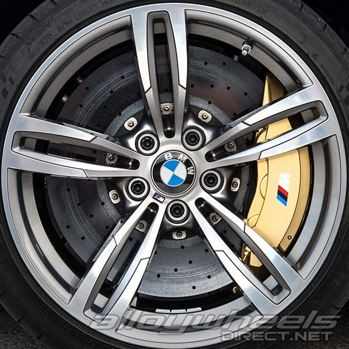 19 Quot Bmw 437m Wheels In Ferric Grey Alloy Wheels Direct