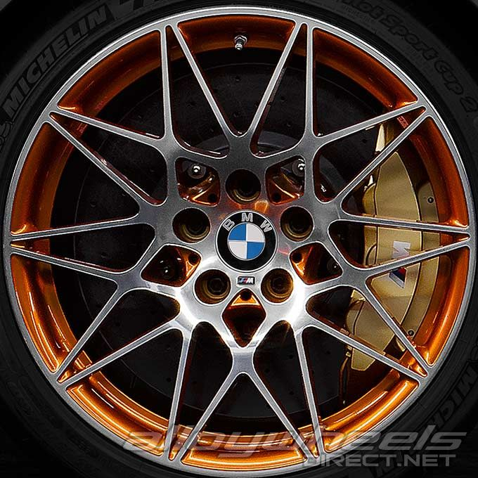 20 Quot Bmw 666m Wheels In Bicolour Coloured Finish With
