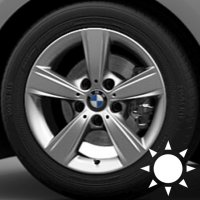 "16"" BMW 376 wheels 36116796199"